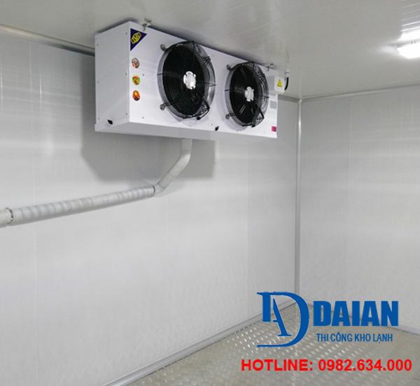 Hệ thống dàn lạnh giúp cung cấp nhiệt độ lạnh cho kho lạnh bảo quản
